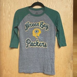 Green Bay Packers Retro Sports Shirt